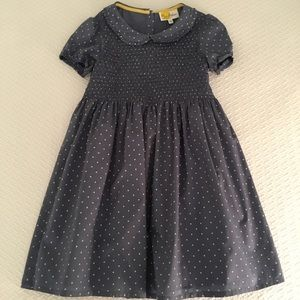 Mini Boden Smocked Dress
